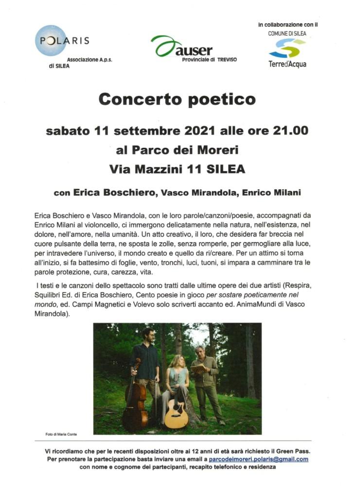 CGIL Concerto poetico 11:09:21